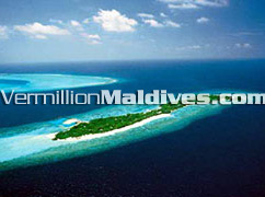 Aerial Picture View of Helengeli Island Resort Hotel Maldives