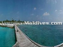 Main Jetty to Island of Helengeli Resort Maldives