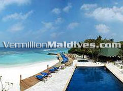 Main Pool at Helengeli Maldives. For your family & friends vacation