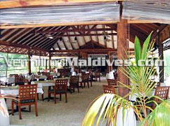 Main Restaurant at Helengeli Island Resort Maldives