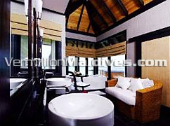 Bathroom of Horizon Water Villas - Irufushi Maldives Luxury Holidays