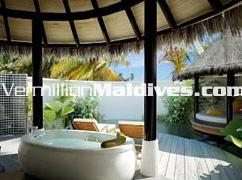 Irufushi Maldives – Open air Private Pool at the 5 star hotel Maldives