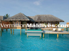 Private room for private vacation at Irufushi Maldives. Infinity Water Villa with Private Pool