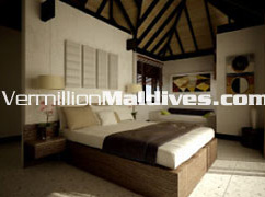 Horizon Water Villa Bedroom: Stylish rooms at best deals and lowest price. Millions dream about it. Vermillion can get it for you