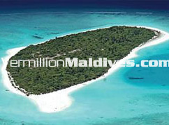 Aerial View of the Virgin Island: Hilton Maldives Iru fushi Resort & SPA Resort Hotel Maldives