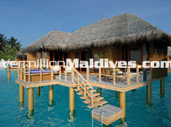 Hotel Hilton Irufushi Resort & Spa's Horizon Water Villa: A world class accommodation at cheap rates.