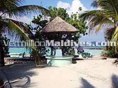 Artificial Beach Area in Male - visit here during your stay in Hotel Holiday Inn Maldives