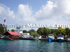 Male' - As seen on your way in – Male' is where Holiday