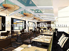 Restaurant - Holiday Inn Hotel in Maldives – Hotel in Male' the capital
