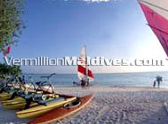 Different Water Sports available at Holiday Island Resort Maldives