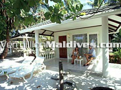 Super Deluxe Rooms Exterior at Holiday Island Resort & Spa Maldives
