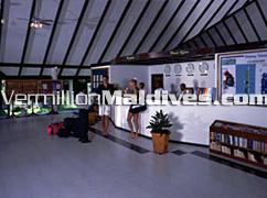 Holiday Island Resort SPA Maldives Reception, welcomes you