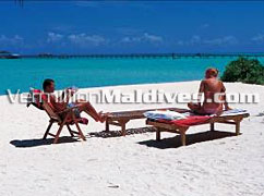 Private moments as its best at Maldives Holiday Island
