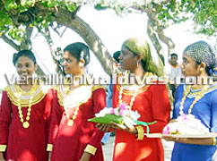 Vermillion staffs will be welcoming you to Maldives. Maldivian girls