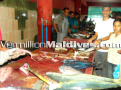 Capital Island Male' – Fish Market
