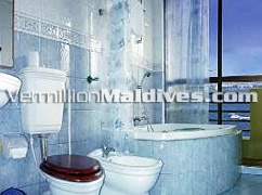 Bathroom of Hotel Relax Inn – Maldives – Your Holiday starts here