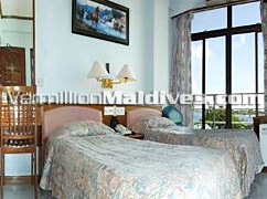 Bedrooms of Hotel Relax Inn – Comfortable accommodation in Male'