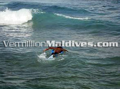 Surfing in the Male' Surf point - Enjoy a Surfing Holiday in the Maldives