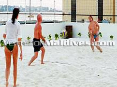 Beach Volley - Hulhule Island Hotel of Maldives