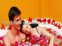 Enjoy a floral spa treatment in the Airport Hotel of Maldives
