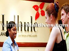 Greetings from hulhule Island Hotel – Kind and friendly staff will attend to your needs