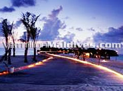 Beautiful View of Beach at Dusk: Special Maldives Packages to Experience