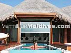 Ocean Pavilion with Private Pool at your luxury resort Huvafen fushi Maldives