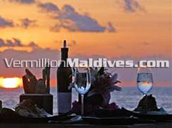 Private dinner at Sunset: Unforgettable Maldives Moments