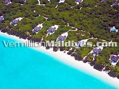 Aerial View Dhonakulhi Residence Island Hideaway Maldives Resorts & Spa