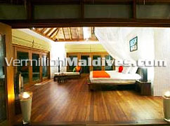 Bedroom Jasmine Garden Villas Island Hideaway Maldives Holiday Resort Hotel