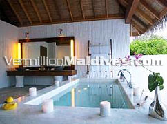 Jasmine garden Villa Bathroom Island Hideaway Maldives Luxury Vacations