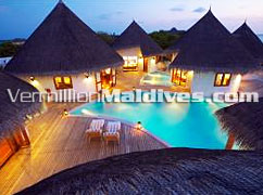 Private Pools of Hideaway Palace: 5 star Luxury Resort in Maldives