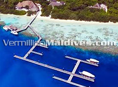 The Marina of Island Hideaway–5 star Spa Resort Hotel in Maldives