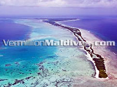 Aerial Image of Herathera Island where J Resort Handhufushi Resort Hotel is