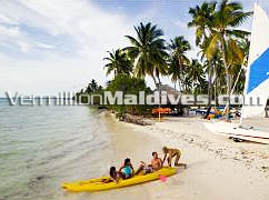 Beach and Water Sports of J Resorts Maldives : A Maldives Family Resort
