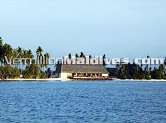 J Resort Handhufushi from a distance - Your Maldives Holidays Resort
