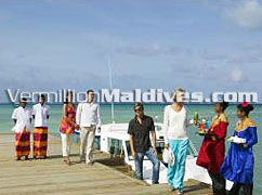 Vermillion Travels & Resort Hotel staffs will welcome you to Maldives