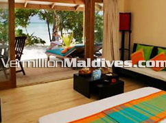 Jacuzzi Beach Villa Accommodation – A beach front Maldives Vacation place