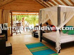 Handhufushi Maldives Hotel Jacuzzi Beach Villa accommodation