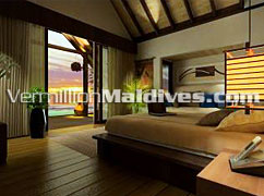 Kudarah Maldives. Offshore Suites at the Luxury tropical Maldives island