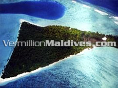 Aerial Picture of J Resort Raalhuveli Beach Hotel Maldives