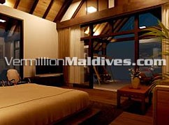 Beach Suites of Raalhuveli. The Maldives five star Deluxe Beach Resort Hotel
