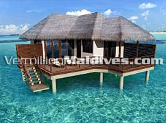Hotel Raalhuveli Maldives got stand alone Honeymoon Suites. : Private & exclusive