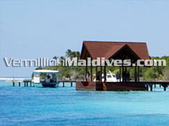 Picture of Maldives Hotel Raalhuveli Resort. The Island Jetty