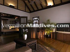 Raalhuveli in room mini bar – Be special in this Maldives honeymooners retreat