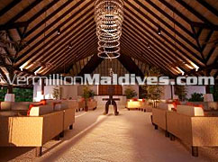 White Sandy bare foot Restaurant of J Resort Raalhuveli hotel Maldives