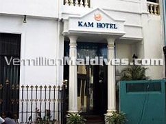 Kam Hotel in the Maldives capital Island Male