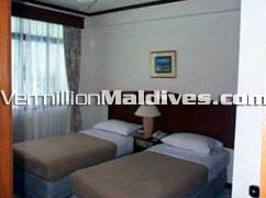 Accommodation rooms at Kam Hotel Maldives