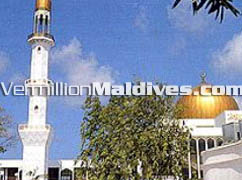 A must see during your stay in Male' Maldives. Mosque