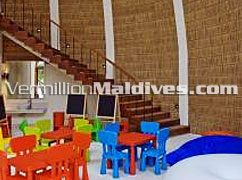Kids Club at HolidayInn Resort Kandooma Maldives. A good kids & family resort